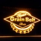 b-129 Grain Belt logo Beer bar pub 3d signs LED Neon Light Sign