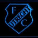 FBHL-01 FC Utrecht Dutch football Logo ADV LED Neon Light Sign