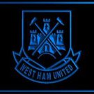 FBY-09 West Ham United FC Soccer Football LED Neon Light Sign Gift Men Room Pub
