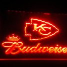 b-264 Kansas City Chiefs Budweiser Neon Signs Wholesale Dropshipping