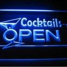 Cocktails Open Logo Beer Bar Pub Light Sign Neon