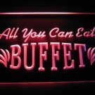 All You Can Eat Buffet Beer Bar Light Sign Neon