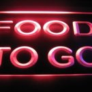 Food To Go Logo Beer Bar Pub Store Light Sign Neon