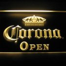 Corona Open King Logo Beer Bar Pub Light Sign Neon