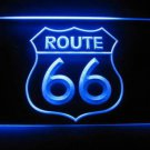 Route 66 Logo Beer Bar Pub Store Light Sign Neon