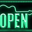 Open Guitar Bass Music Logo Beer Bar Pub Store Neon Light Sign LED Neon