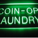 Coin-op Laundry Logo Beer Bar Pub Light Sign Neon