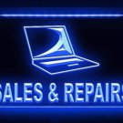 Notebook Computer Sales Repairs LED Light Sign Bar Beer Pub Store