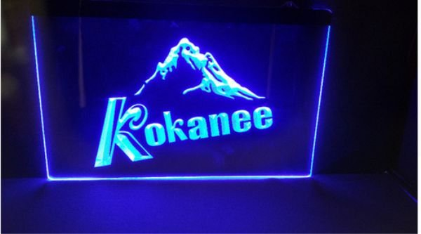 kokanee beer bar pub club 3d signs LED Neon Light Sign man cave