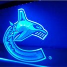 Vancouver Canucks Bar Beer pub club 3d signs LED Neon Sign man cave