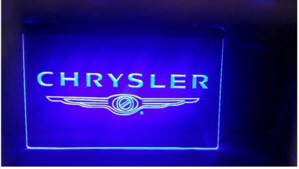 chrsler car Bar Beer pub club 3d signs LED Neon Sign man cave