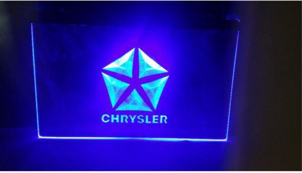 chrsler Bar Beer pub club 3d signs LED Neon Sign man cave