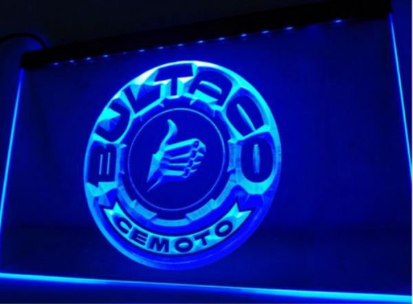 Bultaco Motorcycle car bar Beer pub club 3d signs LED Neon Sign man cave