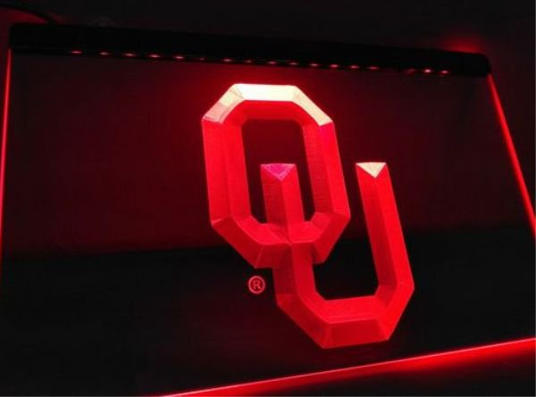oklahoma sooners bar Beer pub club 3d signs LED Neon Sign man cave