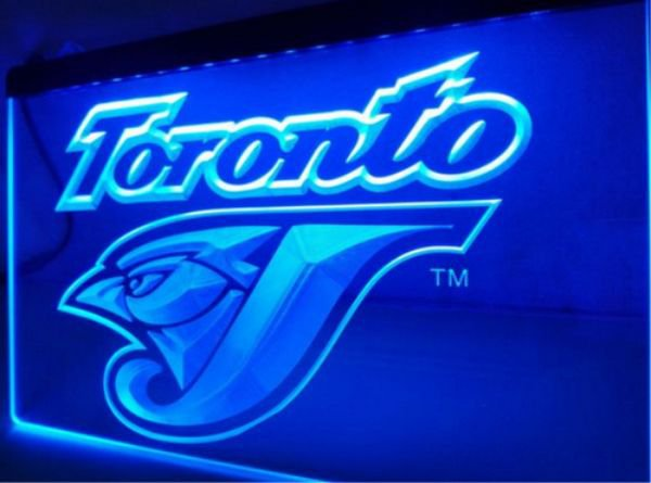 Toronto Blue Jays bar Beer pub club 3d signs LED Neon Sign man cave