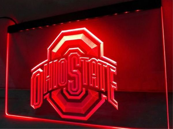 Ohio State bar Beer pub club 3d signs LED Neon Sign man cave