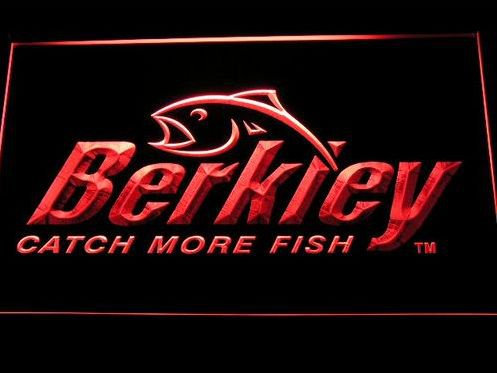 Berkley Fishing Logo bar Beer pub club 3d signs LED Neon Sign man cave