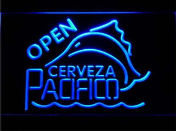 Cerveza Pacifico Logo bar Beer pub club 3d signs LED Neon Sign man cave
