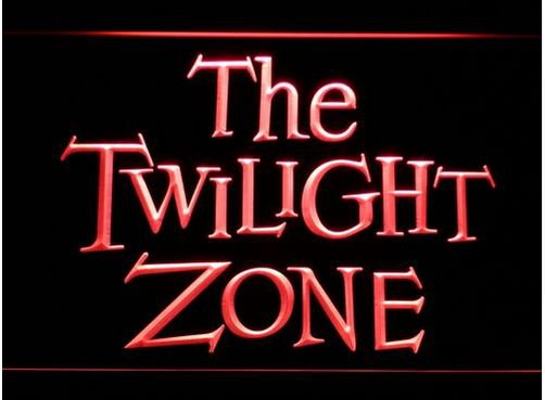 Twilight Zone Logo bar Beer pub club 3d signs LED Neon Sign man cave