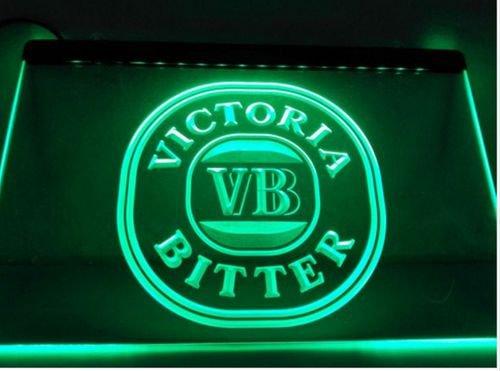 Victoria Bitter VB Logo bar Beer pub club 3d signs LED Neon Sign man cave