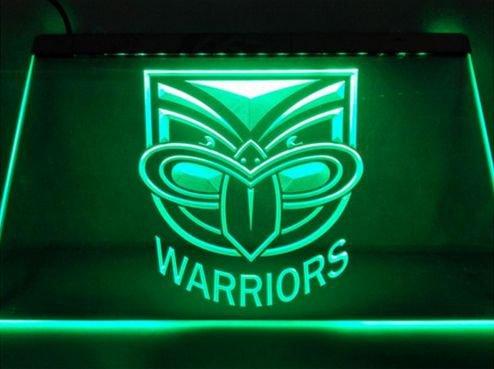 Warriors bar Beer pub club 3d signs LED Neon Sign man cave