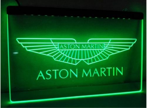Aston martin bar Beer pub club 3d signs LED Neon Sign man cave
