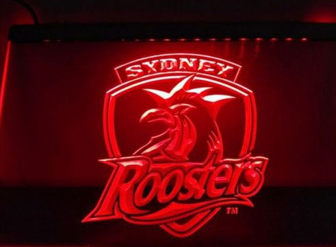 Sydney Roosters bar Beer pub club 3d signs LED Neon Sign man cave