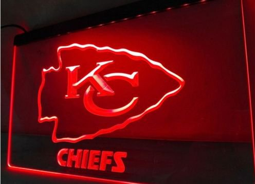 Kansas City Chiefs ESPN bar Beer pub club 3d signs LED Neon Sign man cave
