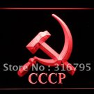 Hammer and Sickle Communist CCCP bar beer pub club 3d signs LED Neon Sign man cave