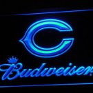 Chicago Bears Budweiser bar beer pub club 3d signs LED Neon Sign man cave