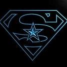 Dallas Cowboys Super Hero bar beer pub club 3d signs LED Neon Sign man cave