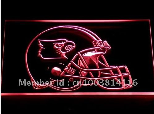 Louisville Cardinals Helmet bar beer pub club 3d signs LED Neon Sign man cave