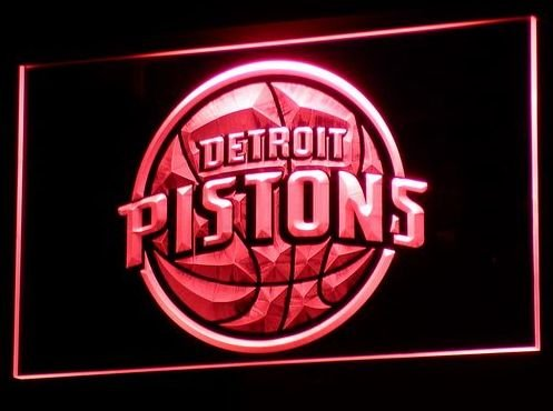 Pistons bar beer pub club 3d signs LED Neon Sign man cave