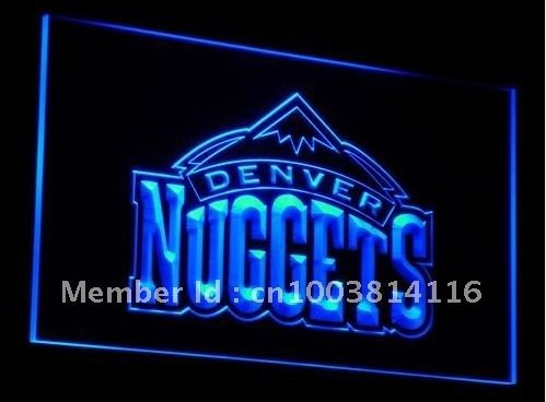 Nuggets Sport bar beer pub club 3d signs LED Neon Sign man cave