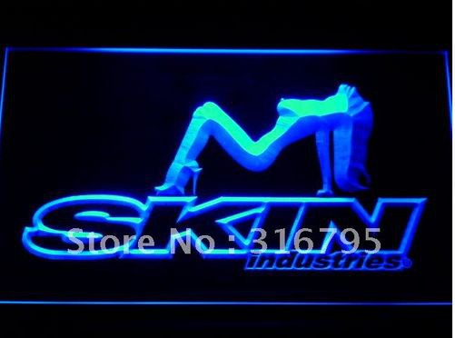 Skin Industries bar beer pub club 3d signs LED Neon Sign man cave