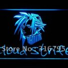 Cloud Strife Final Fantasy 7 VII Logo Beer Bar Pub Light Sign Neon