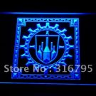 Bastok Flag FFXI Final Fantasy Logo Beer Bar Pub Light Sign Neon