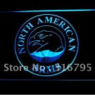 North American Arms Firearms Gun logo Beer Bar Pub Light Sign Neon