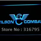 Wilson Combat Firearms Gun logo Beer Bar Pub Light Sign Neon
