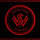 Western Sydney Wanderers Football Club LOGO Bar Club Neon Light Sign Rare