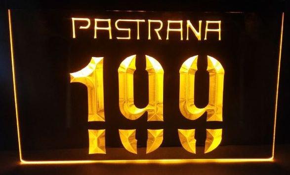Travis Pastrana 199 bar beer pub club 3d signs LED Neon Sign man cave