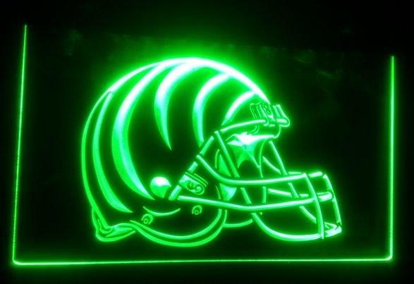 Cincinnati Bengals Helmet bar beer pub club 3d signs LED Neon Sign man cave