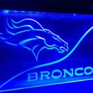 Denver Broncos bar beer pub club 3d signs LED Neon Sign man cave