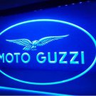 Moto Guzzi Motorcycle bar Beer pub club 3d signs LED Neon Sign man cave