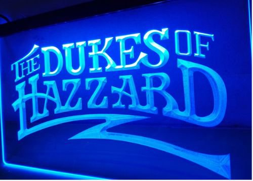 The Dukes Of Hazzard bar Beer pub club 3d signs LED Neon Sign man cave