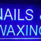 Nails & Waxing Logo Beer Bar Pub Light Sign Neon