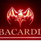 Bacardi Logo Beer Bar Pub Store Light Sign Neon