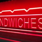 Sandwiches Logo Beer Bar Pub Store Light Sign Neon