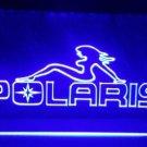Polaris Snowmobile Logo Beer Bar Pub Store Light Sign Neon