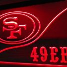 b-252 San Francisco 49ers Football LED Neon Light Sign home decor crafts